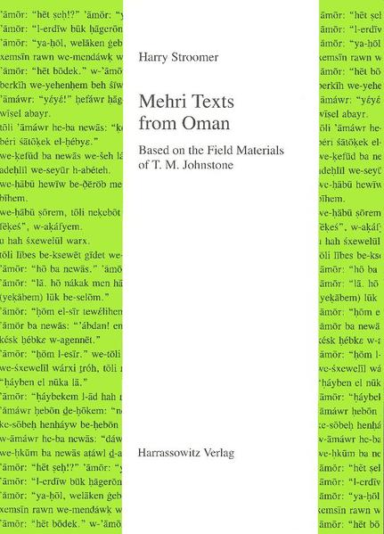 Download EPUB Kostenlos Mehri Texts from Oman