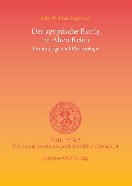 Der ägyptische König im Alten Reich - Coverbild