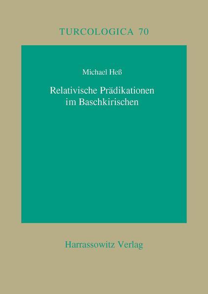 Relativische Prädikationen im Baschkirischen - Coverbild