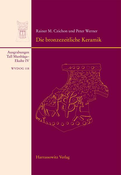 Tall Munbaqa-Ekalte IV, Die bronzezeitliche Keramik - Coverbild