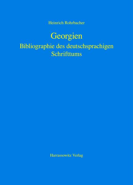 Georgien - Coverbild