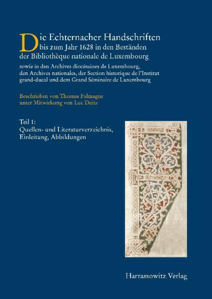 Die Handschriften des Großherzogtums Luxemburg - Coverbild