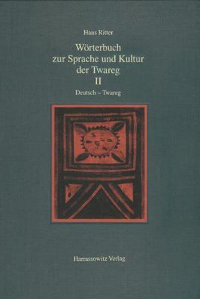 Wörterbuch zur Sprache und Kultur der Twareg II. Deutsch - Twareg - Coverbild