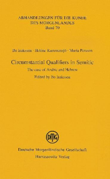 Circumstantial Qualifiers in Semitic - Coverbild