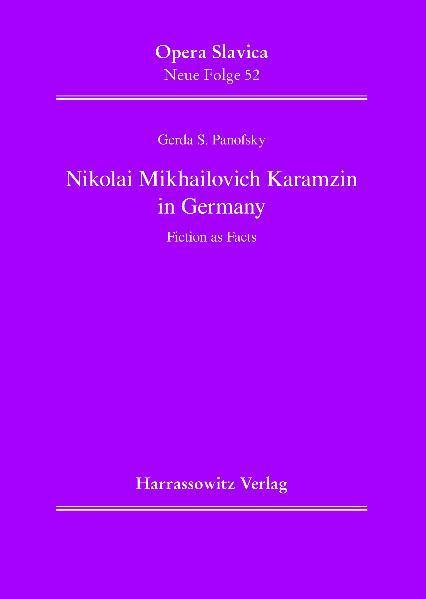 Nikolai Mikhailovich Karamzin in Germany - Coverbild