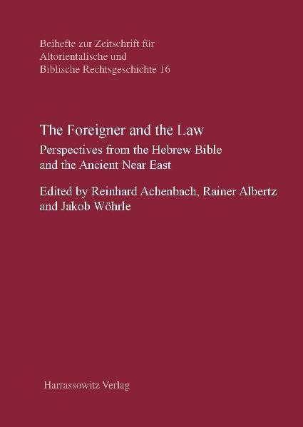 The Foreigner and the Law - Coverbild