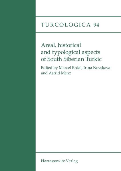 Areal, historical and typological aspects of South Siberian Turkic - Coverbild