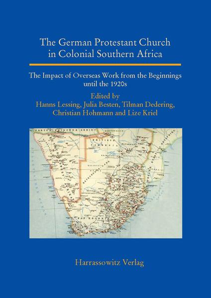 The German Protestant Church in Colonial Southern Africa - Coverbild