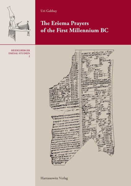 The Eršema Prayers of the First Millennium BC - Coverbild