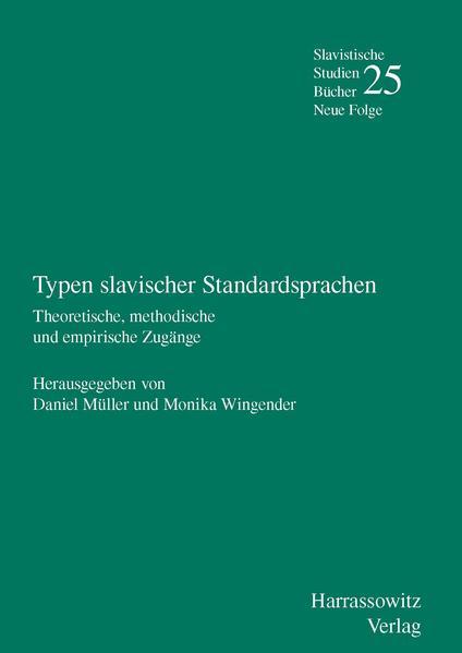 Typen slavischer Standardsprachen - Coverbild