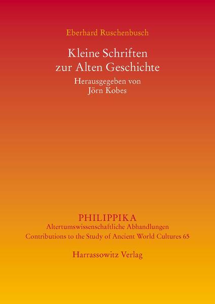 Kleine Schriften zur Alten Geschichte PDF Download