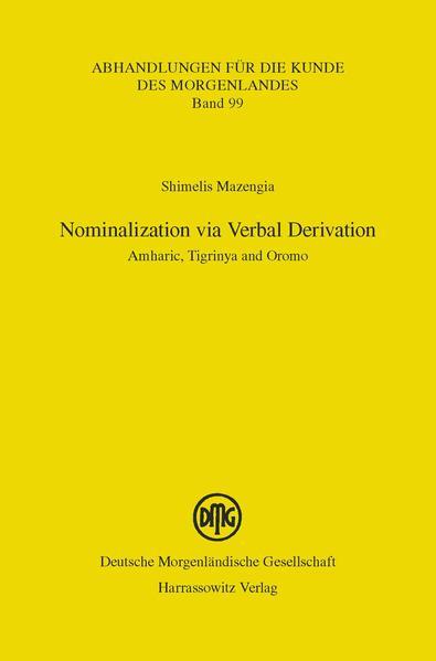 Nominalization via Verbal Derivation - Coverbild