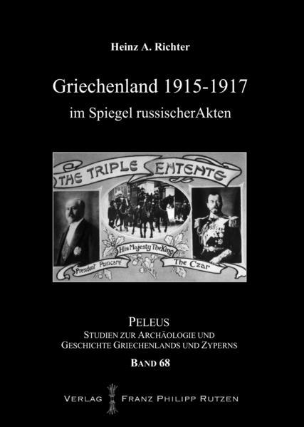 Griechenland 1915-1917 im Spiegel russischer Akten - Coverbild