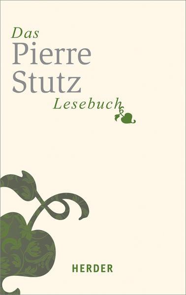 Das Pierre-Stutz-Lesebuch - Coverbild