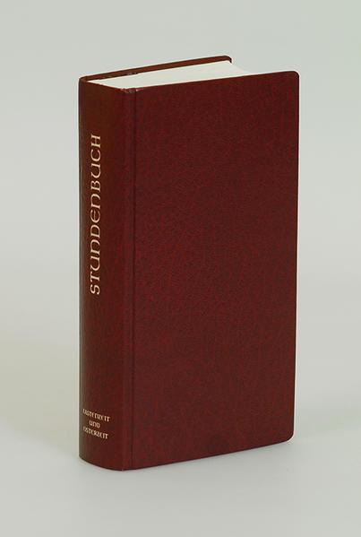 Stundenbuch - Die Feier d. Stundengebetes - Für d. kath. Bistümer d. dt. Sprachgebietes - Coverbild