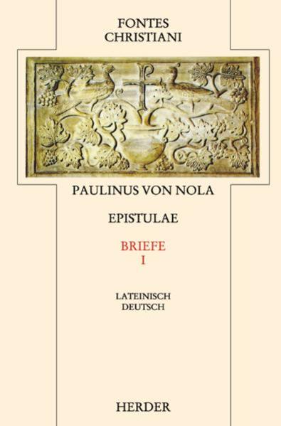 Epistulae I /Briefe I - Coverbild