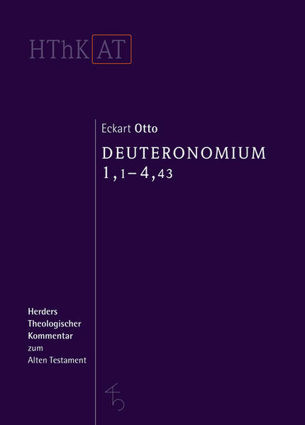 Herders theologischer Kommentar zum Alten Testament / Deuteronomium 1-11 - Coverbild