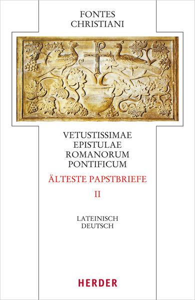 Vetustissimae epistulae Romanorum pontificum - Die ältesten Papstbriefe - Coverbild