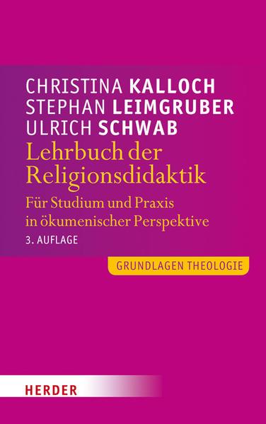 Lehrbuch der Religionsdidaktik - Coverbild