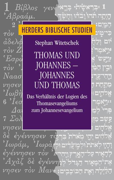 Thomas und Johannes - Johannes und Thomas - Coverbild