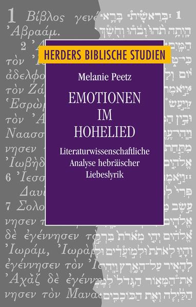 Emotionen im Hohelied - Coverbild