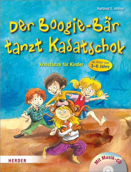 Der Boogie-Bär tanzt Kasatschok - Coverbild
