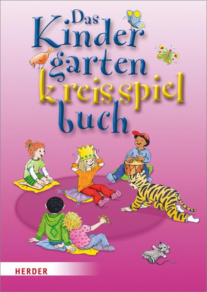 Das Kindergartenkreisspielbuch - Coverbild