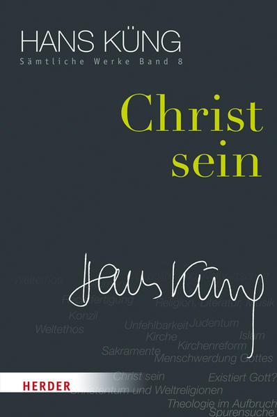 Christ sein - Coverbild