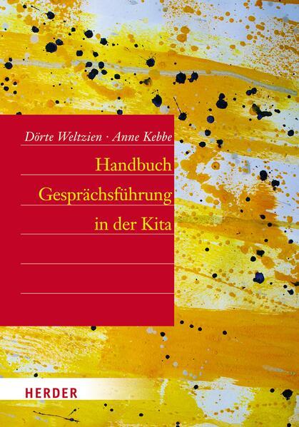 Handbuch Gesprächsführung in der Kita - Coverbild