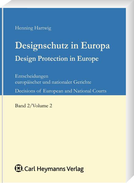 Designschutz in Europa - Coverbild