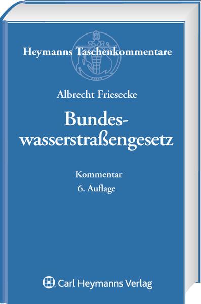 Bundeswasserstraßengesetz - Coverbild