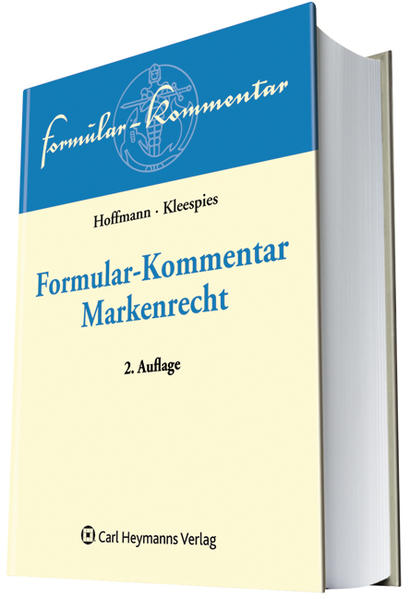 Formular-Kommentar Markenrecht - Coverbild