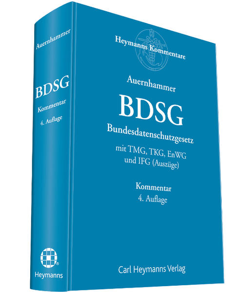 Bundesdatenschutzgesetz - Coverbild