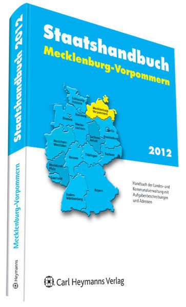 Staatshandbuch Mecklenburg-Vorpommern 2012 - Coverbild