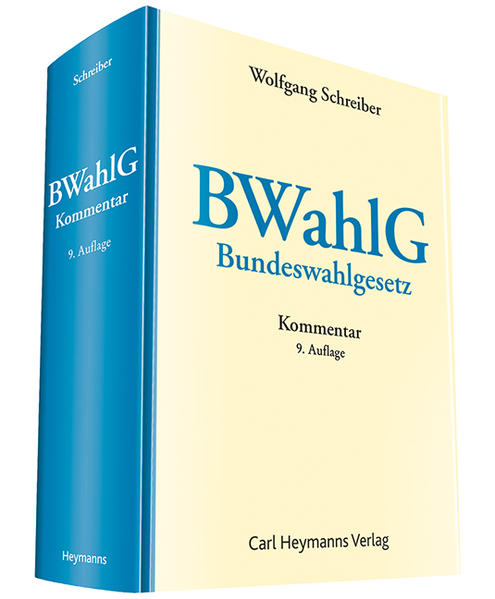 BWahlG - Coverbild