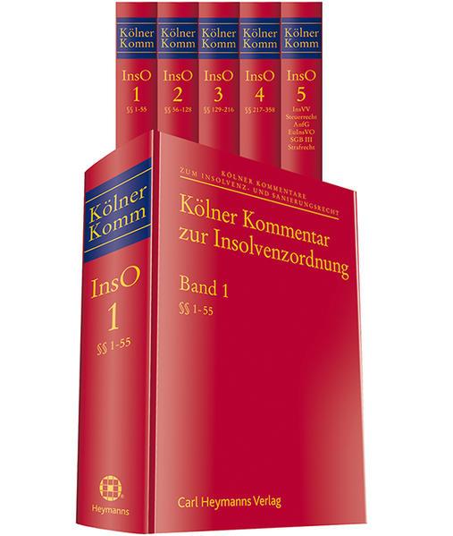 Kölner Kommentar zur Insolvenzordnung - Coverbild