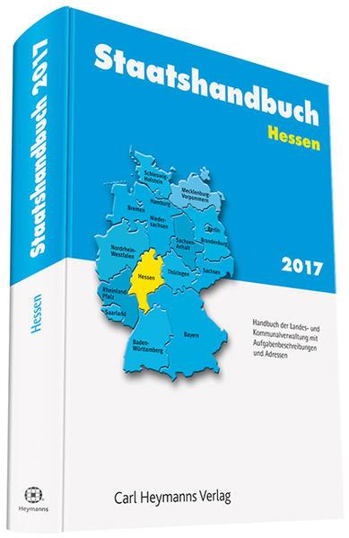 Staatshandbuch Hessen 2017 - Coverbild