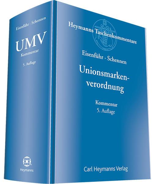 Unionsmarkenverordnung - Coverbild