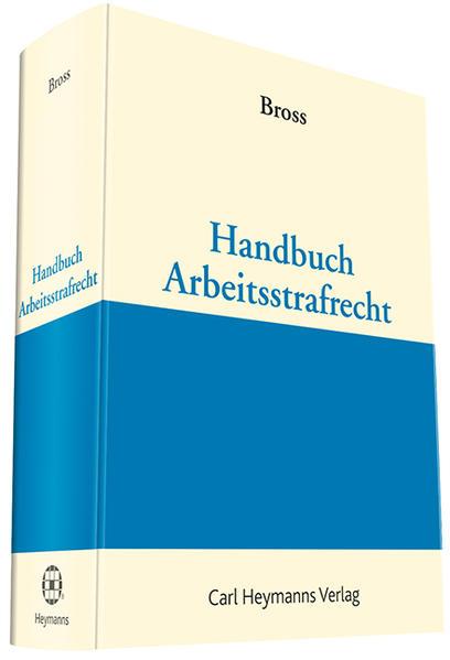 Handbuch Arbeitsstrafrecht - Coverbild