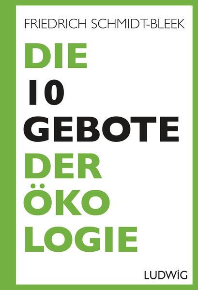 Die 10 Gebote der Ökologie - Coverbild