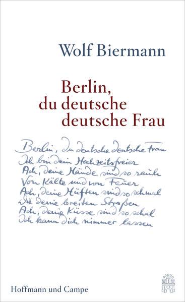 Berlin, du deutsche deutsche Frau - Coverbild