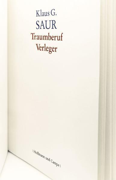 Traumberuf Verleger - Coverbild