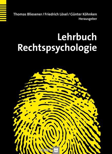 Lehrbuch Rechtspsychologie - Coverbild