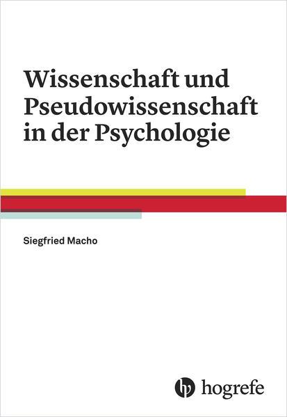Wissenschaft und Pseudowissenschaft in der Psychologie - Coverbild