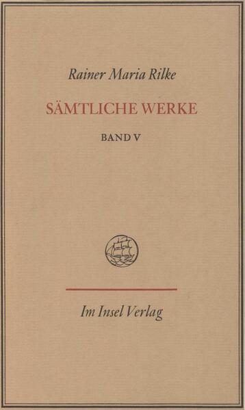 Sämtliche Werke in sieben Bänden - Coverbild