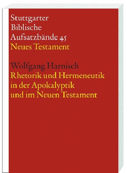 Rhetorik und Hermeneutik in der Apokalyptik und im Neuen Testament - Coverbild