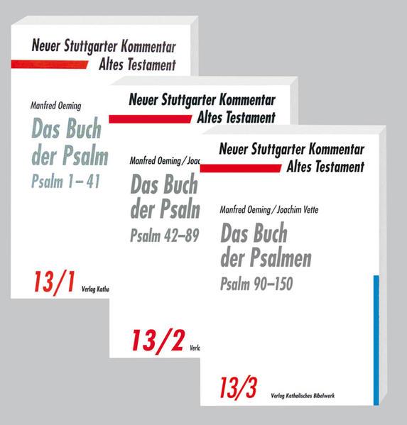 Das Buch der Psalmen  - Coverbild