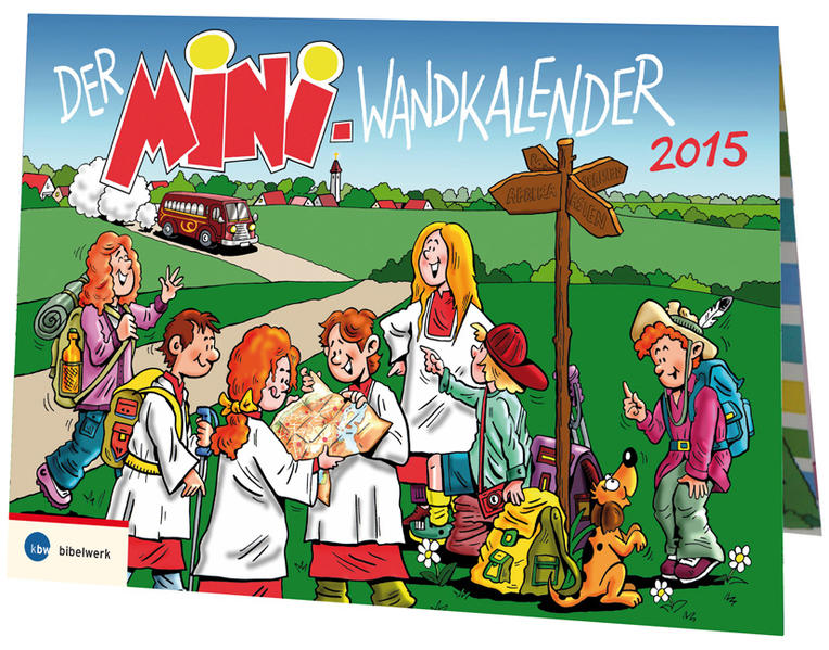 Der Mini-Wandkalender 2015 - Coverbild