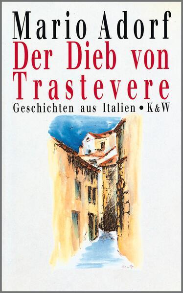 Der Dieb von Trastevere - Coverbild
