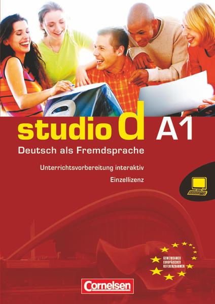 studio d - Grundstufe / A1: Gesamtband - Unterrichtsvorbereitung interaktiv auf CD-ROM - Coverbild